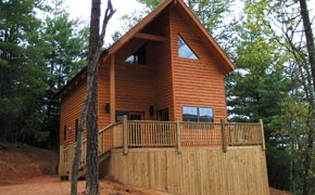 cabin rentals near grandfather mountain