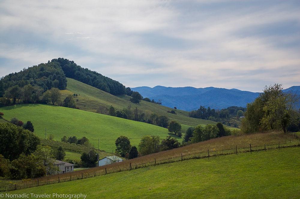 Rolling Mountain Pasture Blue Ridge Parkway Cabin Rentals